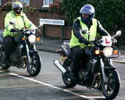 Full Licence Motorbike Courses